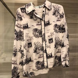 """Alice and Olivia """"New York"""" blouse"""